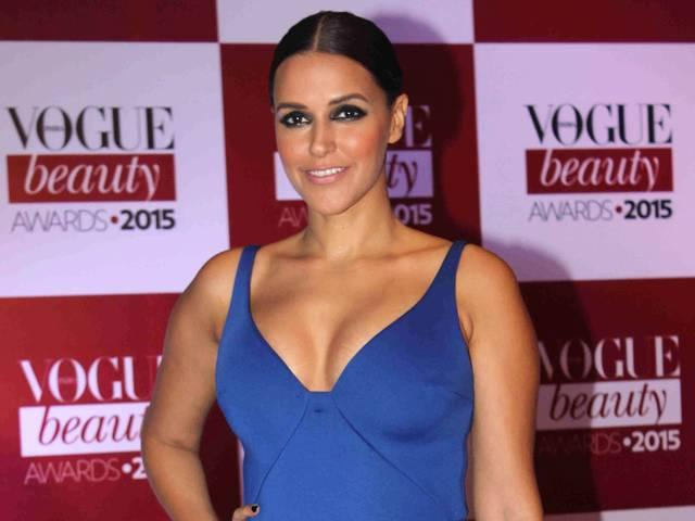 Neha Dhupia meets with an accident in Chandigarh