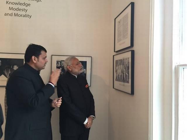 Narendra Modi_Inaugurates_Dr. B R Ambedkar Memorial_London