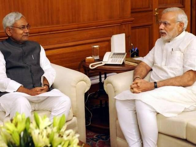 modi can go in nitish's oath