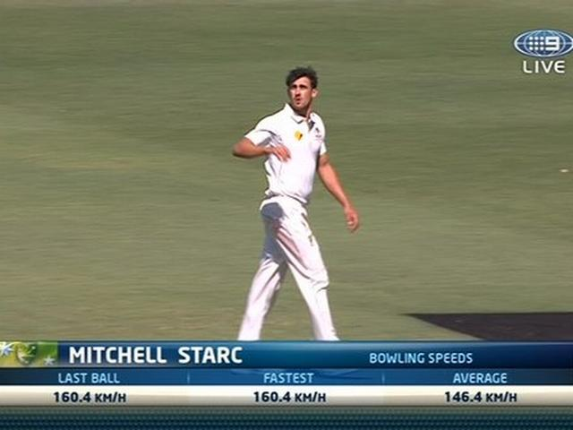 Starc bowls one of fastest deliveries ever recorded