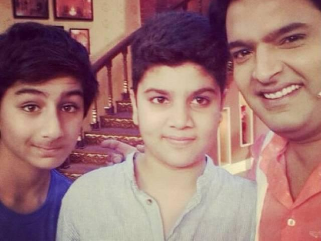 Ibrahim is a splitting image of dad Saif!