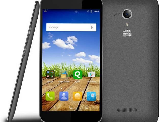micromax Canvas Amaze With 2GB RAM Available Online