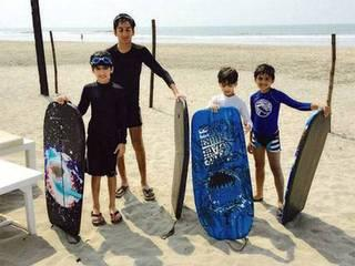 PICS: Hrithik Roshan's ex-wife Sussanne Khan's beach holiday in Goa, see