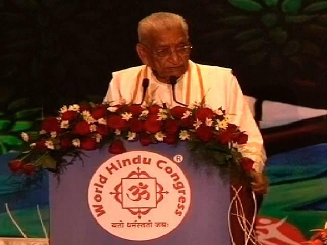 VHP_leader_Ashok Singhal_admitted_hospital