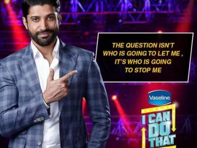 Would like to have season two of 'I Can Do That', says Farhan Akhtar