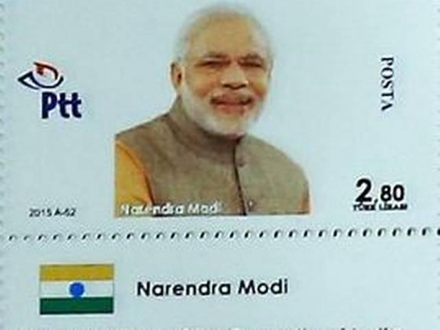 Turkey issues special stamp featuring PM Narendra Modi