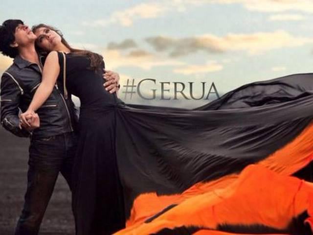 THE MUCH AWAITED EPIC SONG 'GERUA' STARRING SRK-KAJOL IS OUT NOW