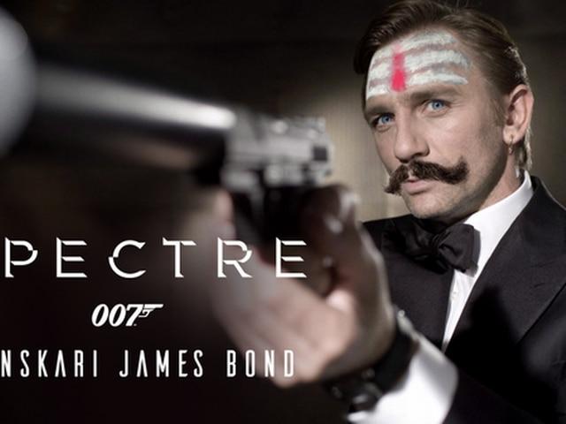 Kissing scenes in 'Spectre' axed, trending #SanskariJamesBond