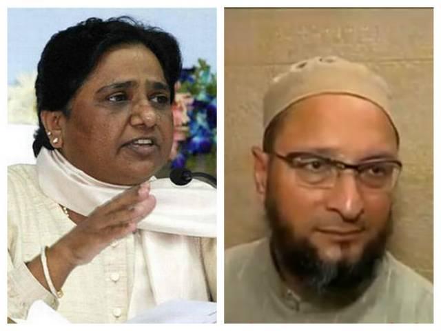mayawati and owaisi may be alliance in uttar pradesh assembly election
