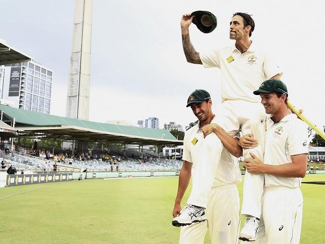 The batsman Mitchell Johnson enjoyed dismissing the most