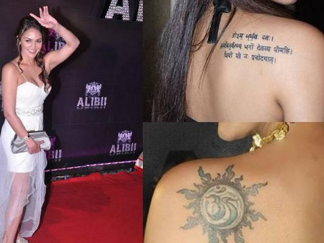 Mira kapoor, Alia, Deepika | celebrities and their world of tattoos