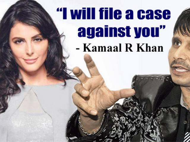 KRK threatening to file a case against Mandana Karima