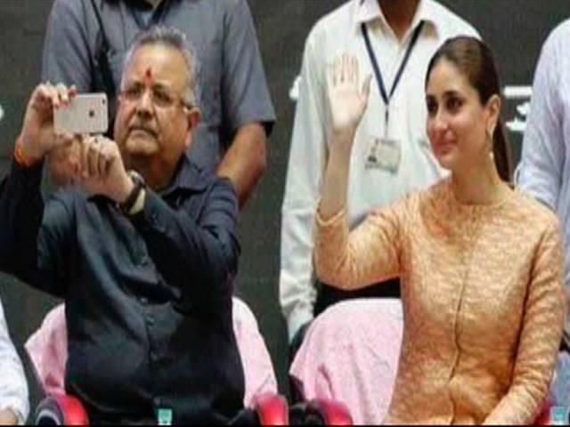 raman singh kareena kapoor selfie