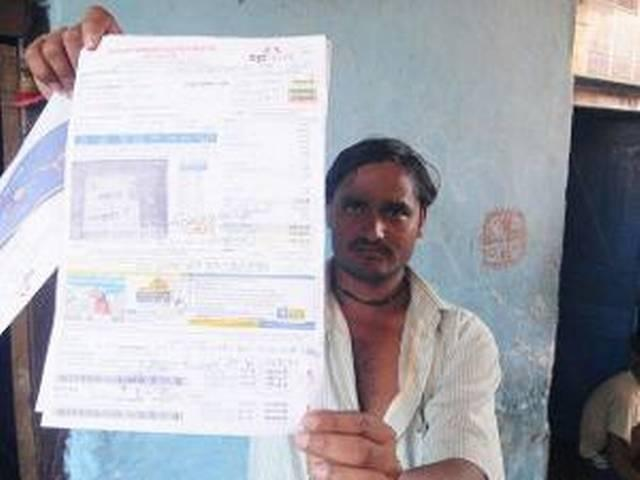 Man gets Rs 39 crore power bill