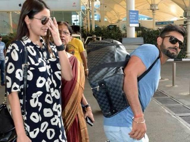 Virat Kohli and Shikhar Dhawan take their partners for a trip to Goa