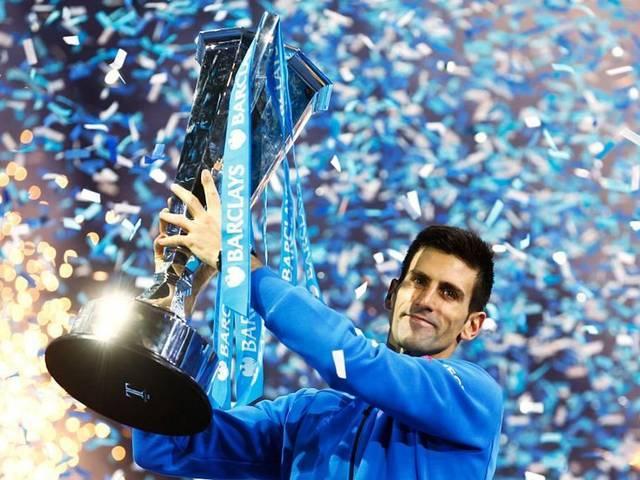 Novak Djokovic beats Roger Federer to win ATP World Tour title