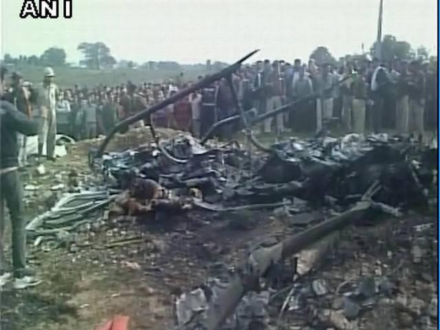 Six persons, including pilot, killed as chopper crashes in Katra, the base camp of Vaishnodevi shrine
