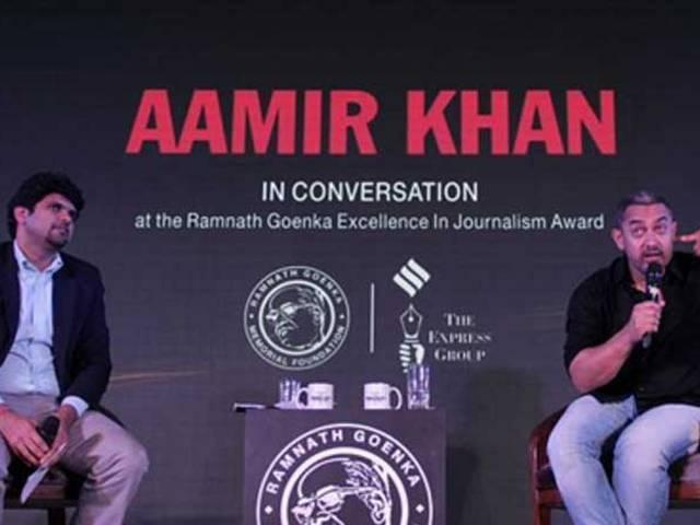 Wife suggested moving out of India: Aamir Khan on intolerance