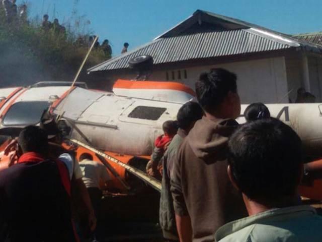 Pawan Hans chopper crash lands in Nagaland, six injured