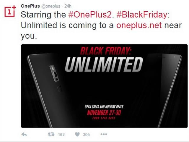 OnePlus 2 is available via an open sale on amazone from tomorrow