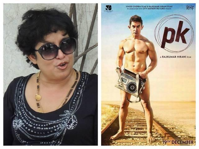 India is safest place for aamir khan says taslima nasreen