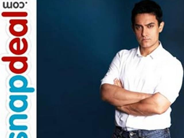 snapdeal decides on aamir khan