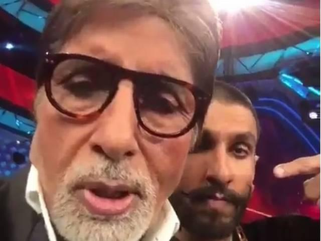 Amitabh bachchan makes his first dubsmash video