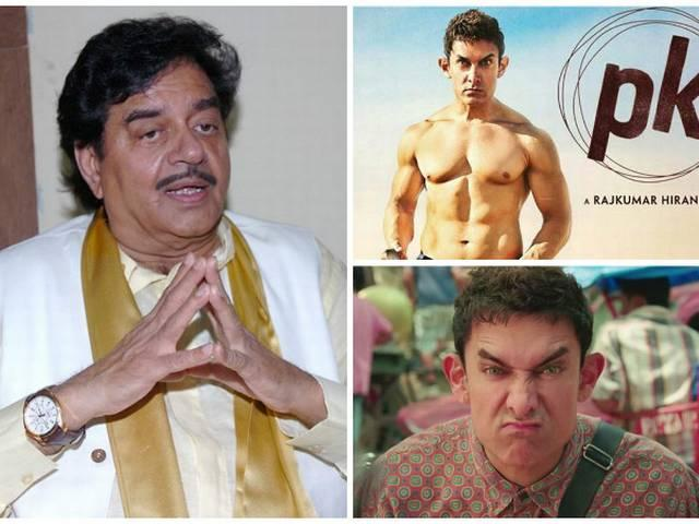 If India was intolerant, 'PK' would not have been a hit, Shatrughan Sinha tells Aamir Khan