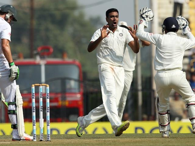 Ashwin becomes highest Test wicket taker of 2015