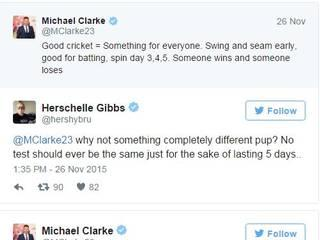 clarke raises questions over the nagpur pitch, gibbs hits back