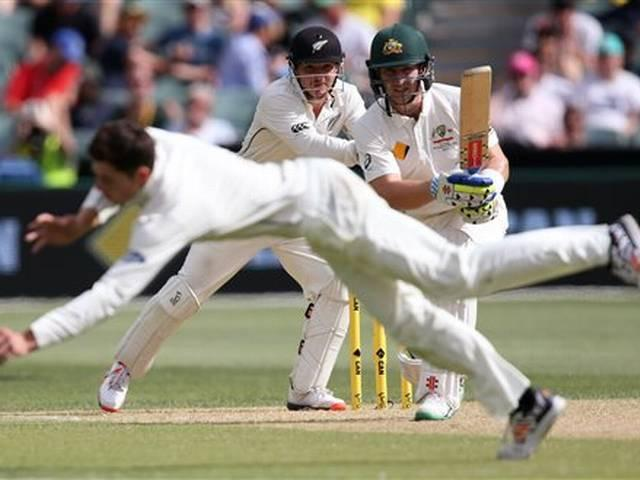 Australia vs new Zealand first day night test 2nd day