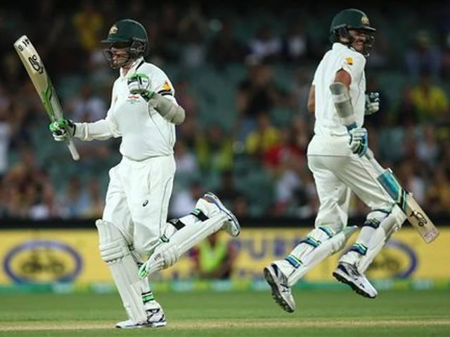 Australia won first day night test