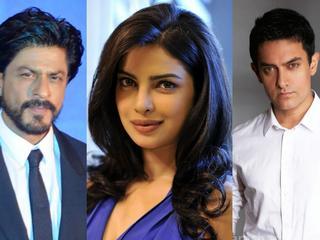 Shah Rukh Khan_Priyanka Chopra_Aamir Khan