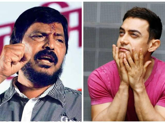 We will bring back Aamir Khan if he goes out of India : Ramdas Athawale