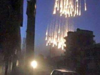 russia face the allegation of using white phosphorus in syria