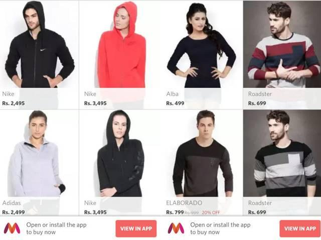 Myntra Relaunches Mobile Website