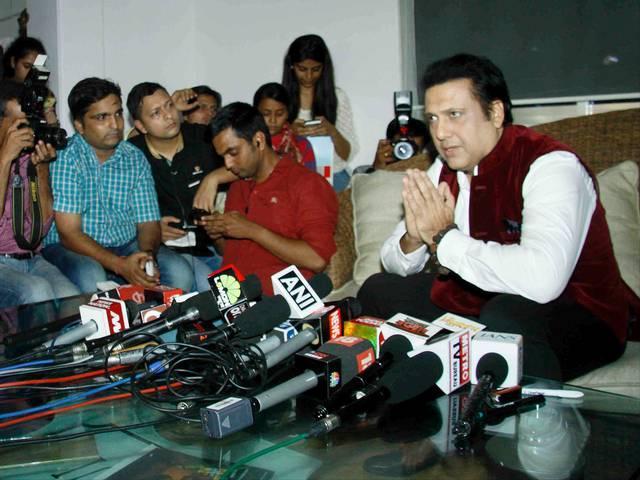Mumbai_Govinda_Press conference