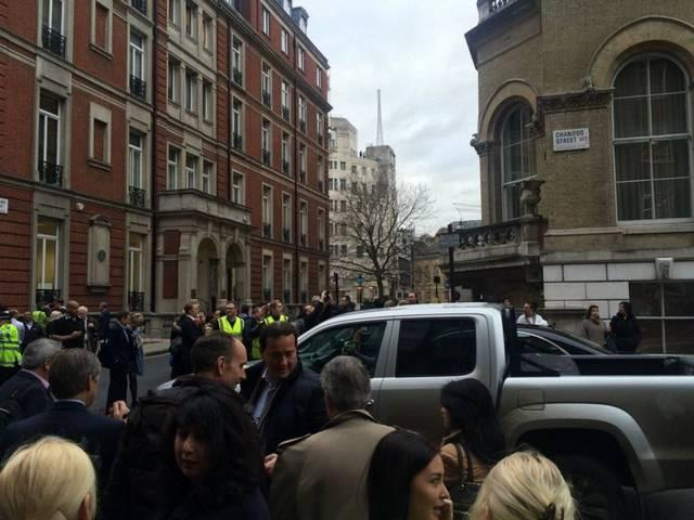 terror attack fear in London, BBC office has been evacuated