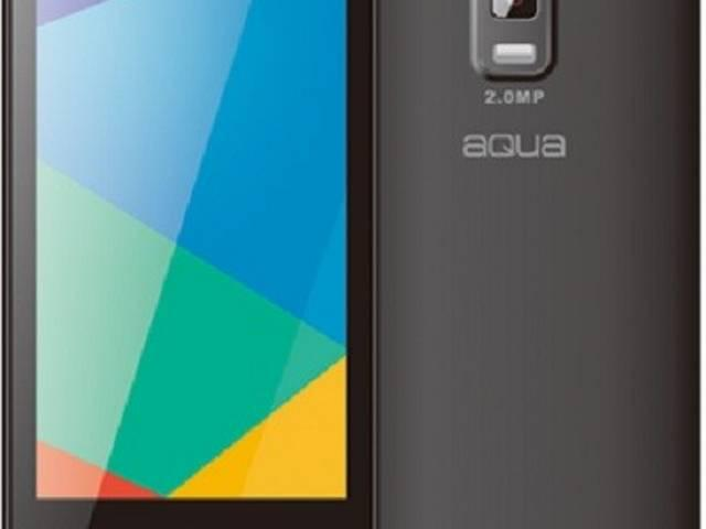 Aqua 3G 512 With 3G Support Launched at Rs. 2,699