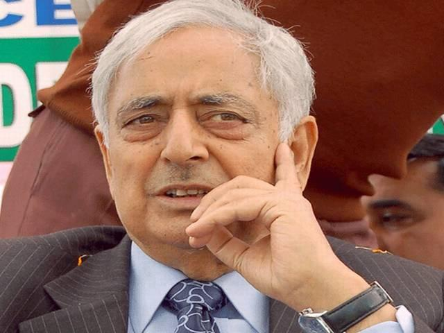 Pm modi is the best PM of the country says Mufti mohammad sayeed
