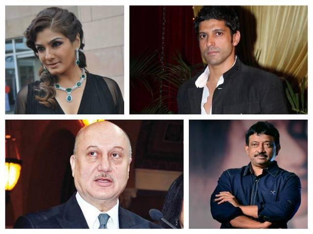 Bollywood stars on national anthem issue