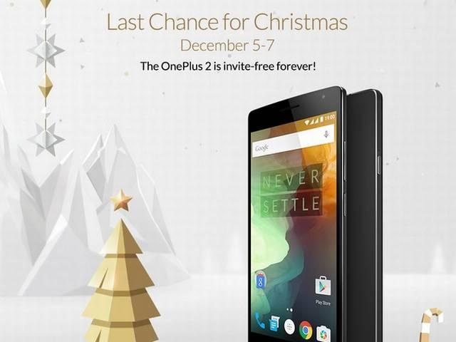 OnePlus 2 Goes Invite-Free 'Forever'