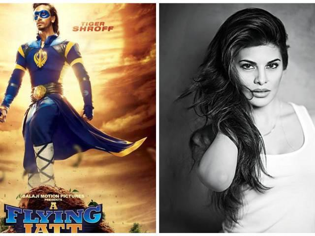 i am very excited while working in 'Flying Jatt' : Jacqueline Fernandez