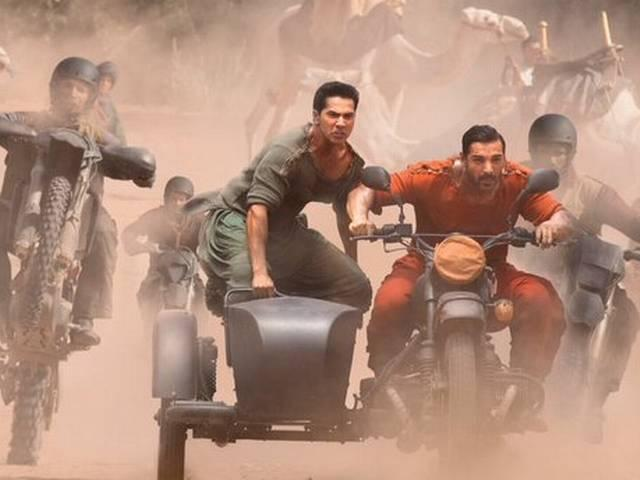 Dhishoom first look: Varun Dhawan, John Abraham are the new action boys