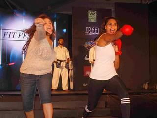 Fit Fest self defense and awareness session gallery