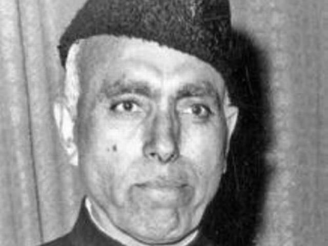 Row over Sher-e-Kashmir title to Sheikh Abdullah