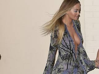 Rita Ora has yet another wardrobe malfunction