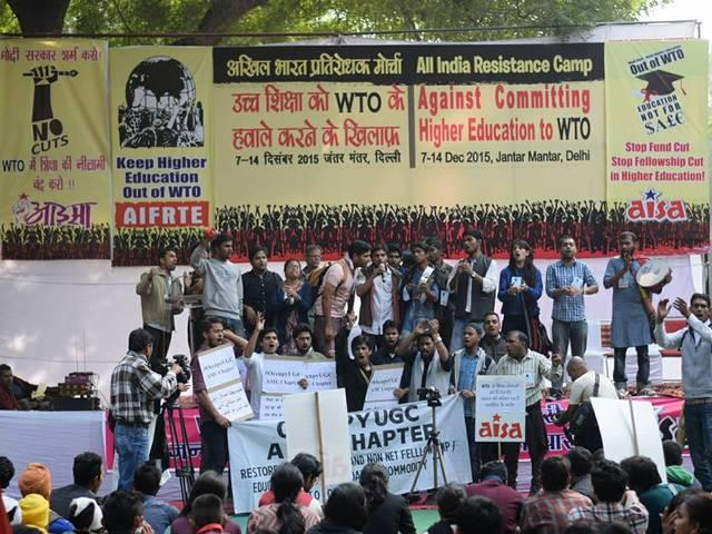 Don't commit higher education to WTO: Students urge Centre