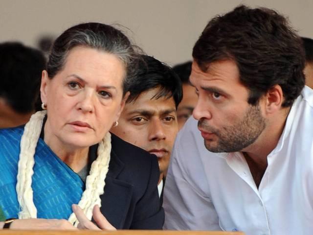 congress uproar in parliament over national herald case
