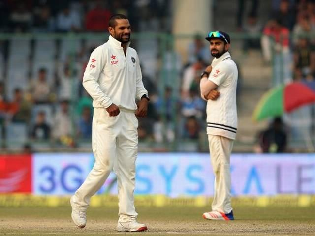 Dhawan reported for suspect bowling action